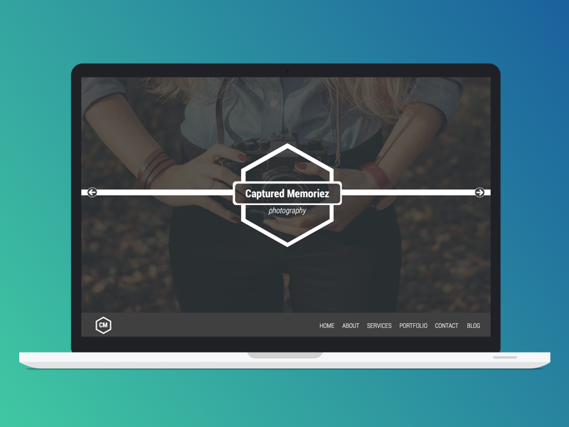 Landing page for photography client web design photography landing page landing