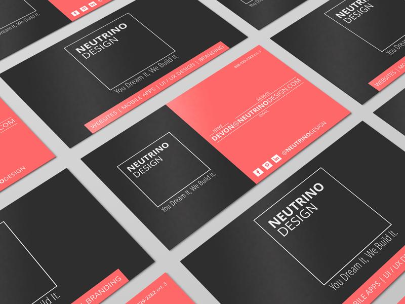 Business Card Design networking print design business card