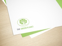 The Green Planet - Logo Design