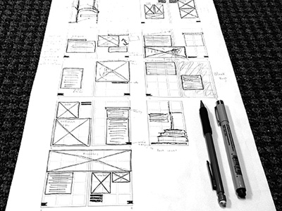 Grid Layout grid book design editorial sketch