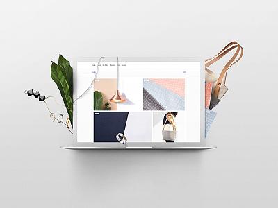 Yield website laptop campaign advertising design build it beautiful squarespace