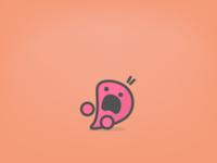 Frightened Capu  - iOS Sticker Day 6