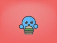 Hungry Orwuu - iOS Sticker Day 7