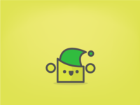Green Hat Shoo - iOS Sticker Day 9