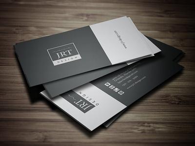 Business Card JRT business card vector business cards templates free business card design business card mockup business card design