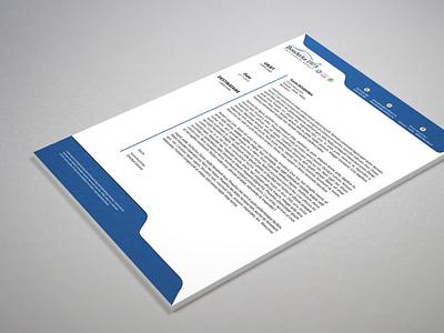 Letterhead design Boudraka letterhead mockup letterhead design letterhead sample letterhead word template