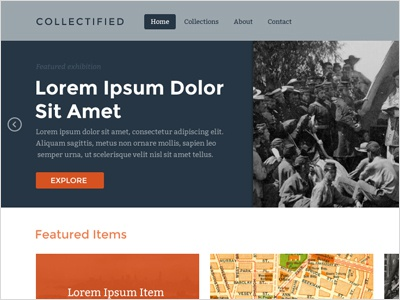 Collectified dribbble