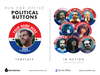 Run For Office Buttons
