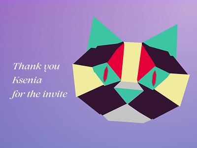 Hello World illustration invite celebrate