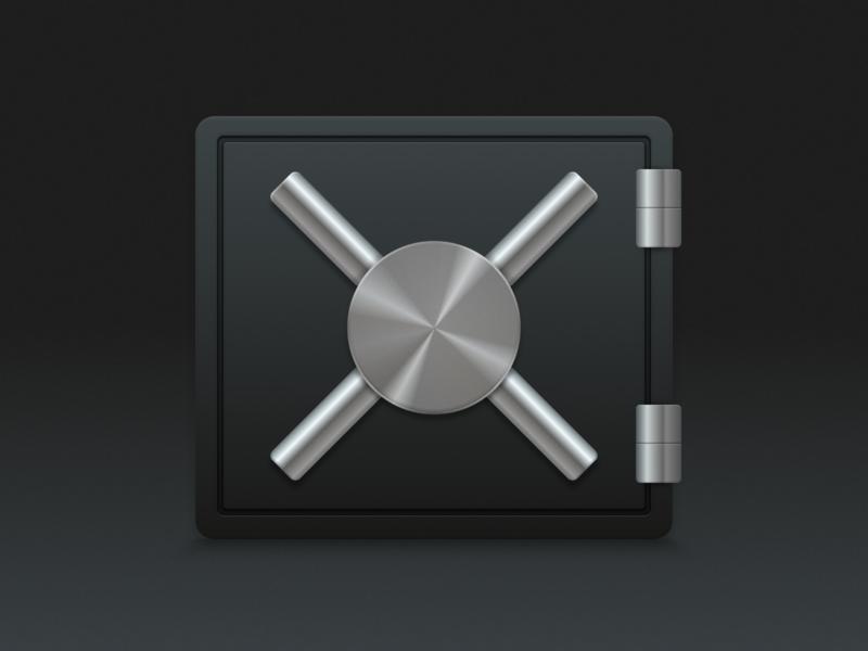 Secure Storage macOS App Icon app security storage secure mac icon