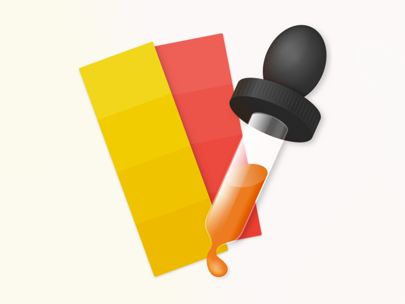 'Pickr' Color Picker macOS App Icon colors color picker picker macos app mac icon