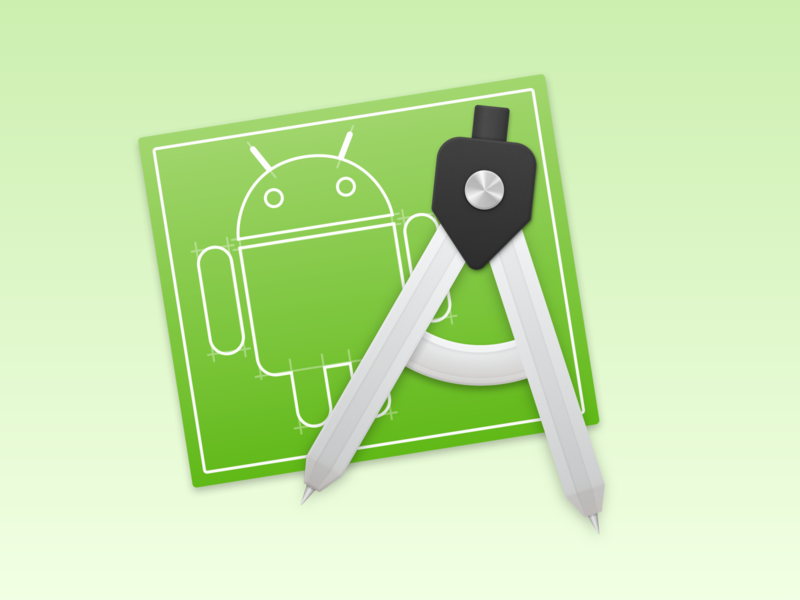 Android Studio macOS Icon app google android studio android replacement mac icon