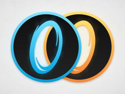 Portal 1 & 2 Icons mac portal 2 portal replacement steam game valve icon
