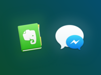 Evernote & Messenger for Glacier