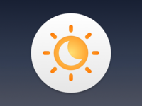 Flux Night Shift Replacement Icon