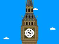 Big Ben Pixel Art