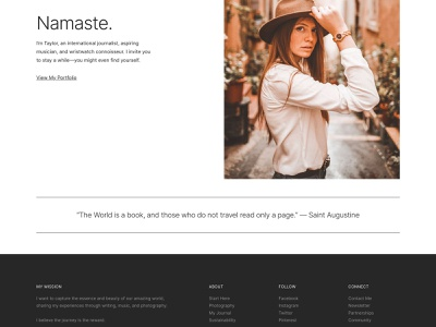 Sophisticate Pro typography minimalism design black and white minimalist design genesis framework wordpress