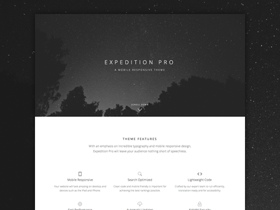 Expedition Pro Theme