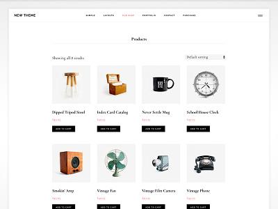 WooCommerce Shop Page woocommerce genesis framework. studiopress wordpress