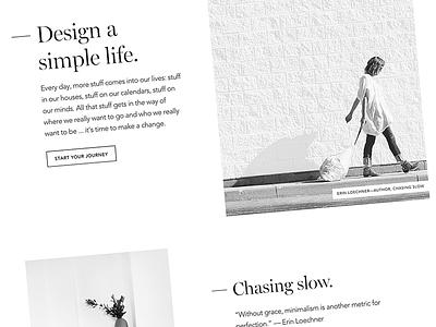 No Sidebar Redesign wordpress genesis framework minimalism redesign no sidebar