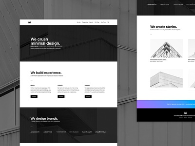 Monochrome Pro Theme genesis framework wordpress minimalist