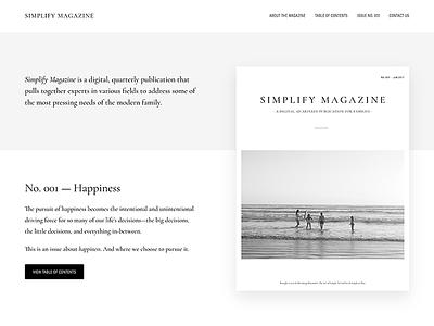 Simplify Magazine genesis framework wordpress minimalist