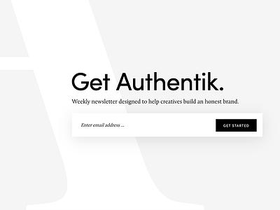 Authentik genesis framework wordpress minimalism