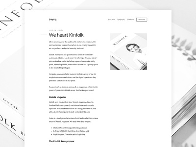 Simplify Pro Theme minimalism minimalist design genesis framework