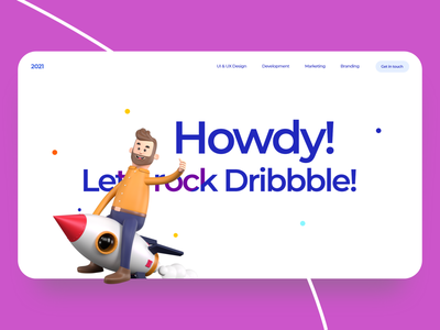 #Welcome On Dribbble designs uxdesign landingpages 2021 design clean web landingpage 2021 trend germany 2021 minimal icon typography ux vector branding ui logo illustration design