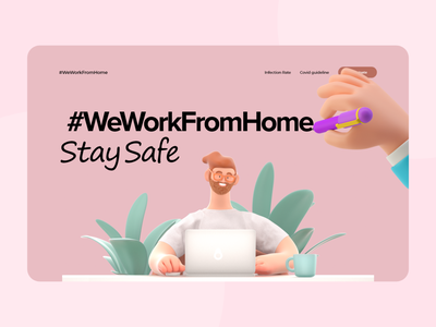 Home Office - Landing Page Design website design website web design uiux webdesigns webdesign landingpages landingpage homeoffice ux ui minimal germany designs design clean 2021 trend 2021 design 2021