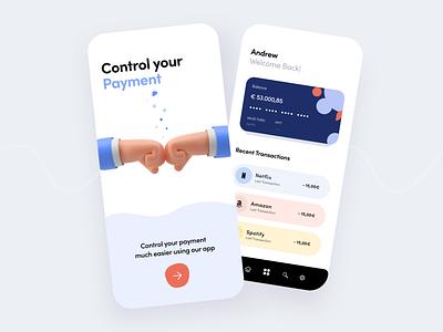 Online Banking - Mobile App Design mobile fintech finances finance uidesign ui  ux uiux julius alphadesign julius branding ux ui minimal germany designs design clean 2021 trend 2021 design 2021