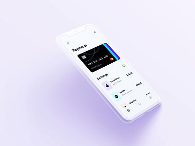 Online Banking - Finance App Design alphadesign mobile design mobile app design mobile ui mobile app mobile ux ui minimal germany designs design clean 2021 trend 2021 design 2021