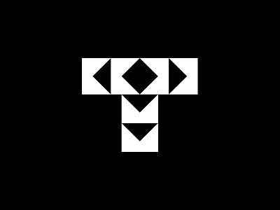 Treasurepost vector process icon typography letter branding illustration wip simple design sign graphic identity logo concept