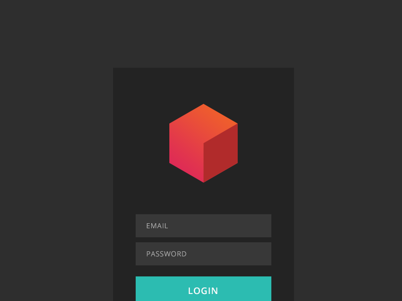 STACKDOT - Client Login stackdot admin ui login logo form modal box flat