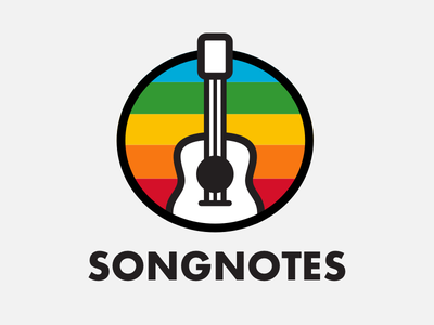 More 🌈 rainbow guitar songnotes