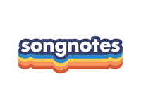 Songnotes rainbow logotype