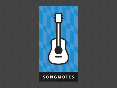 Dribbble songnotes card