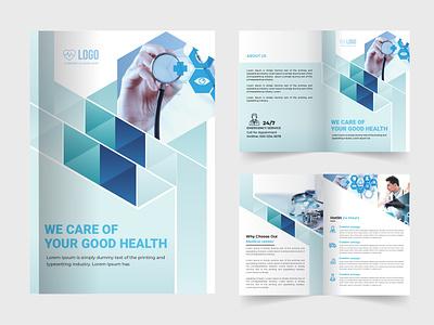 medical brochure design vector covid-19 coronavirus illustration typography branding design medical care doctor medical medical brochure design