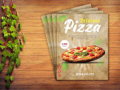 Pizza flyer design free instagram post food banner facebook post facebook banner facebook ads facebook ad banners banner design banner ads social media design