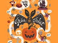 Halloween Map  (fragment)