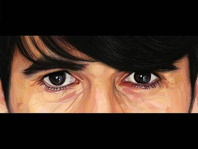 Mirada ilustraciondigital artwork digital painting pintura digital digital art arte digital digital illustration ilustración digital illustration ilustración