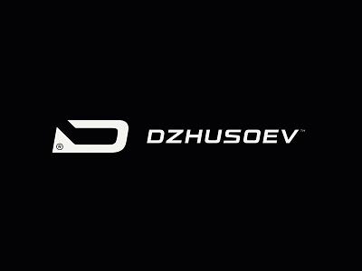 Dzhusoev sports player stick logo d hockey