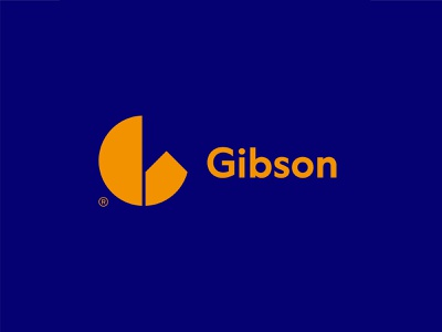 Gibson negativespace investor house logo g real estate