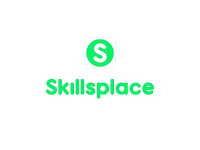 Skillsplace logos illustration app icon design vector branding logo graphic design
