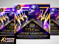 Black And Gold Flyer Template 1