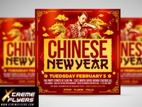 Chinese New Year Flyer Template