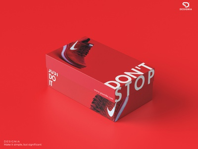 Shoe Box Packaging Design redesign eye catching simple box design packaging design packaging branding design corporate
