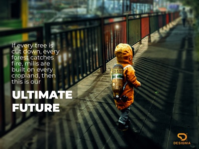 Ultimate Future psd manipulation poster design nature