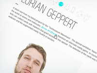 MD Profilepage