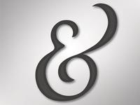 Ampersand Noir